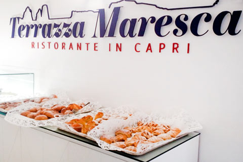 Breakfast at Relais Maresca - Capri